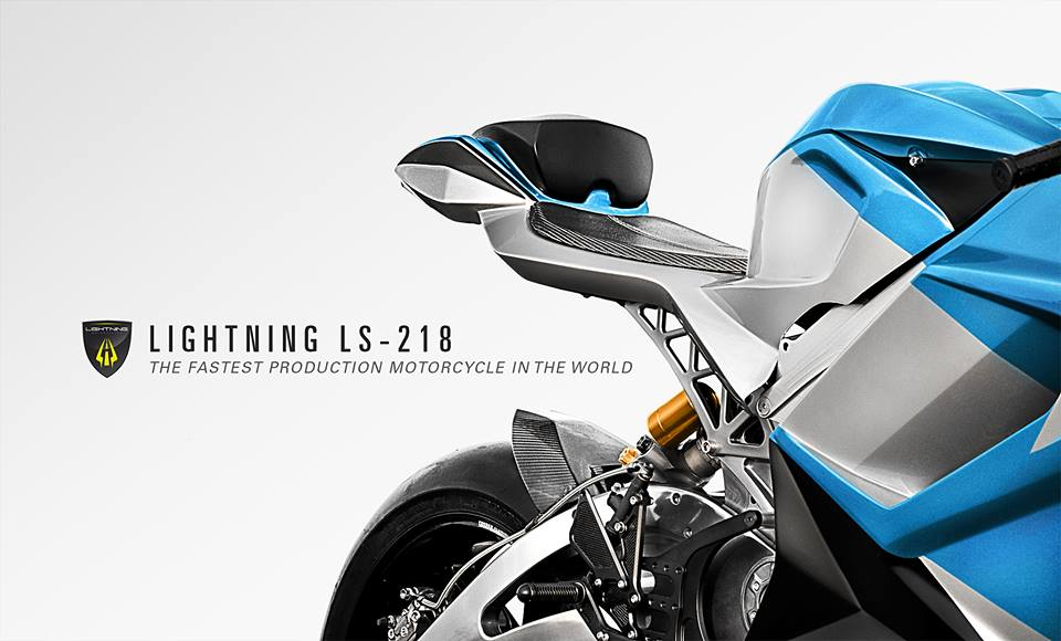 Lightning LS 218 the fastest