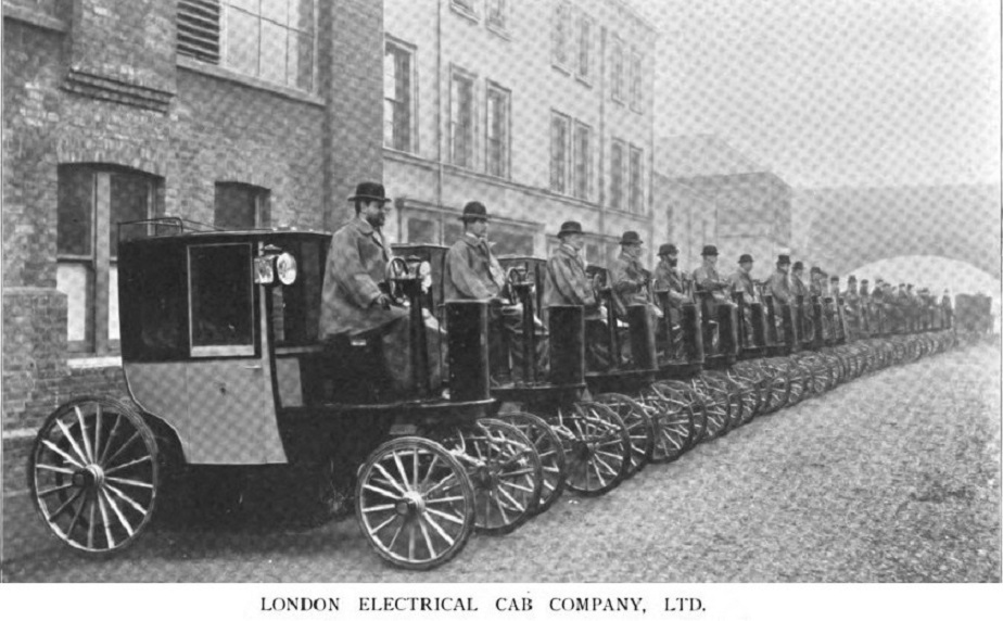 1898 London Electrical cabs