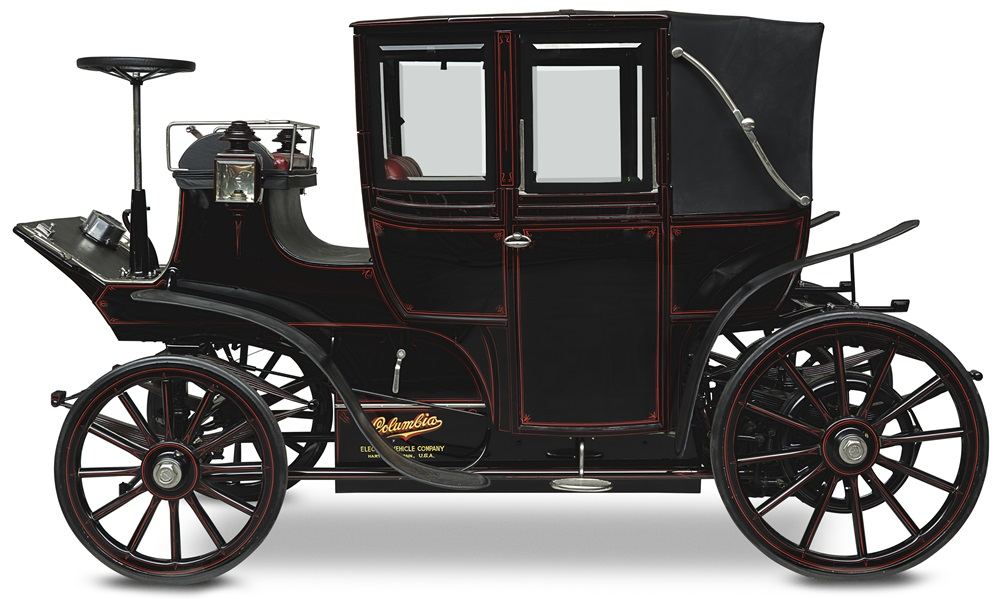 1899 COLUMBIA ELECTRIC LANDAULET 1899