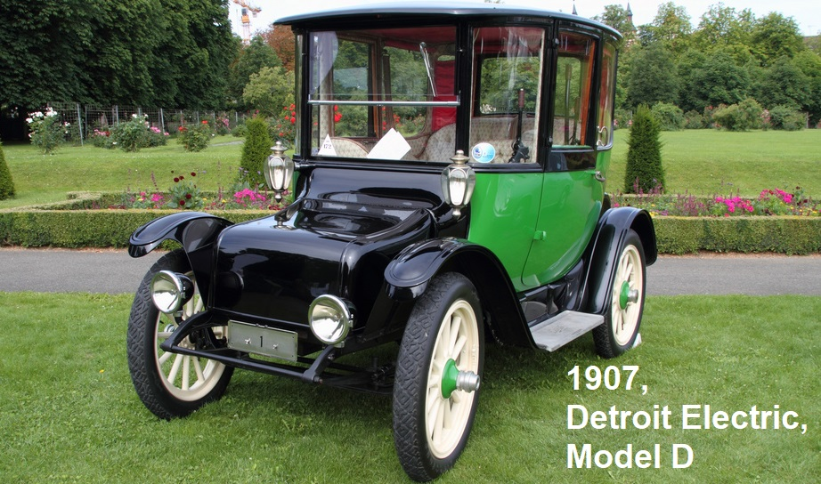 1907 Detroit Electric Model D
