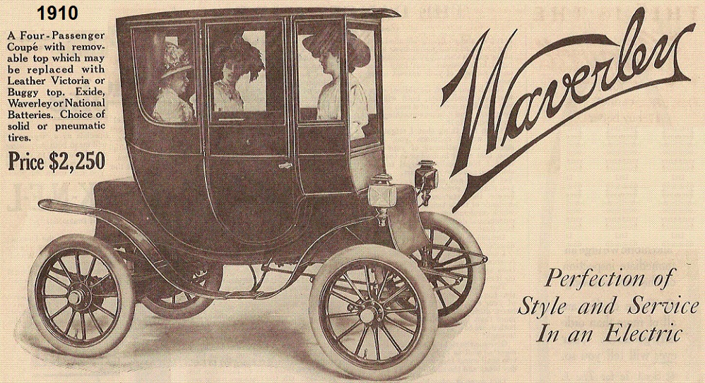 1910 Waverley Coupe