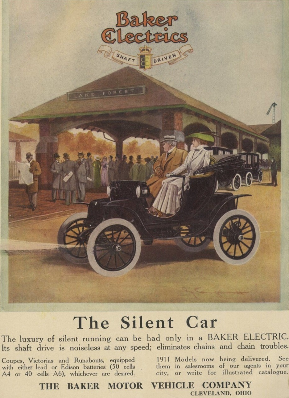 1911 Baker Electric c