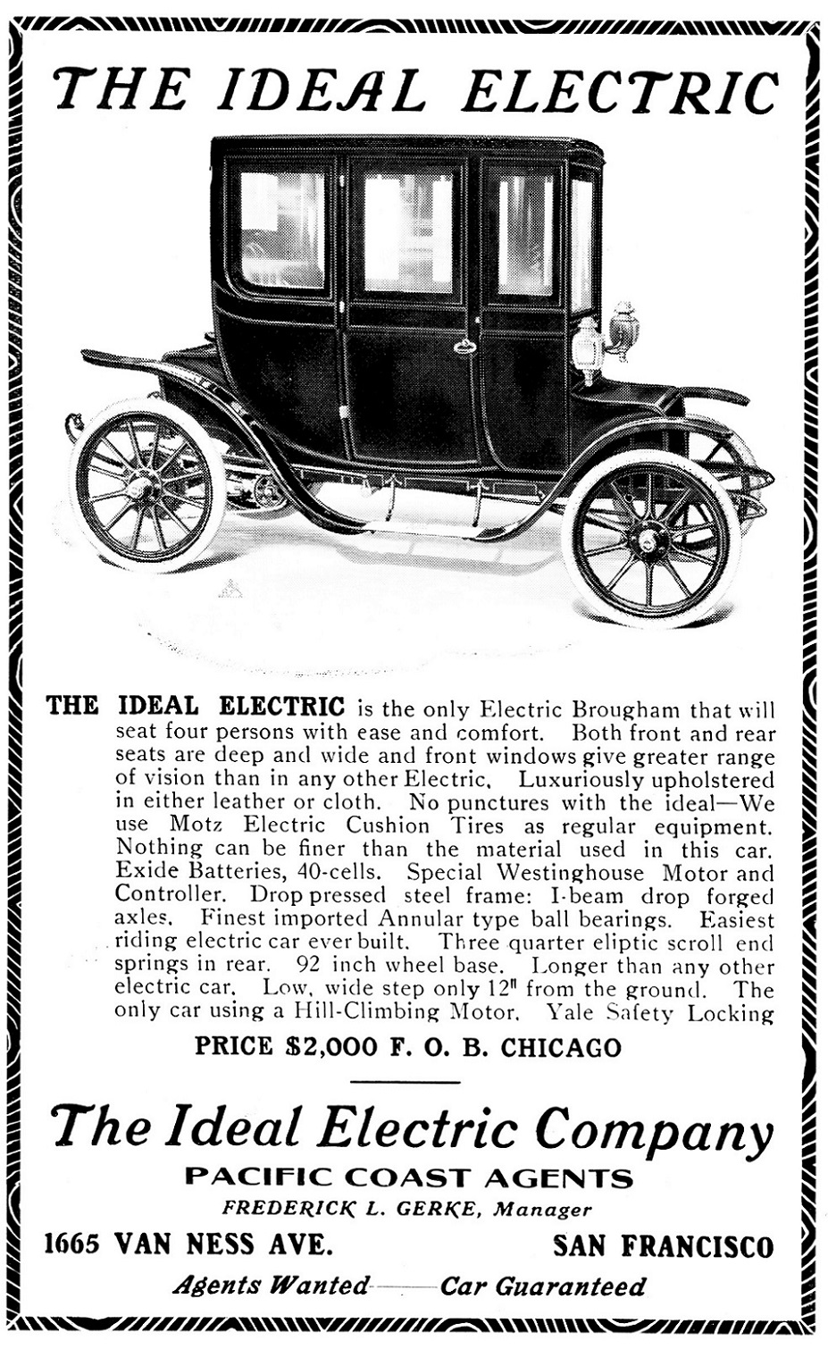 1911 Ideal Electric