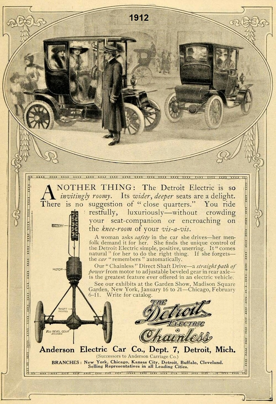 1912 Anderson Electric Car Co