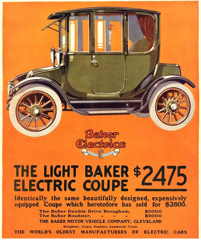 1915 Baker Electric