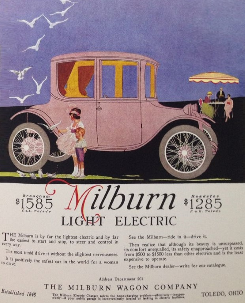 1917 Milburn Light Electric