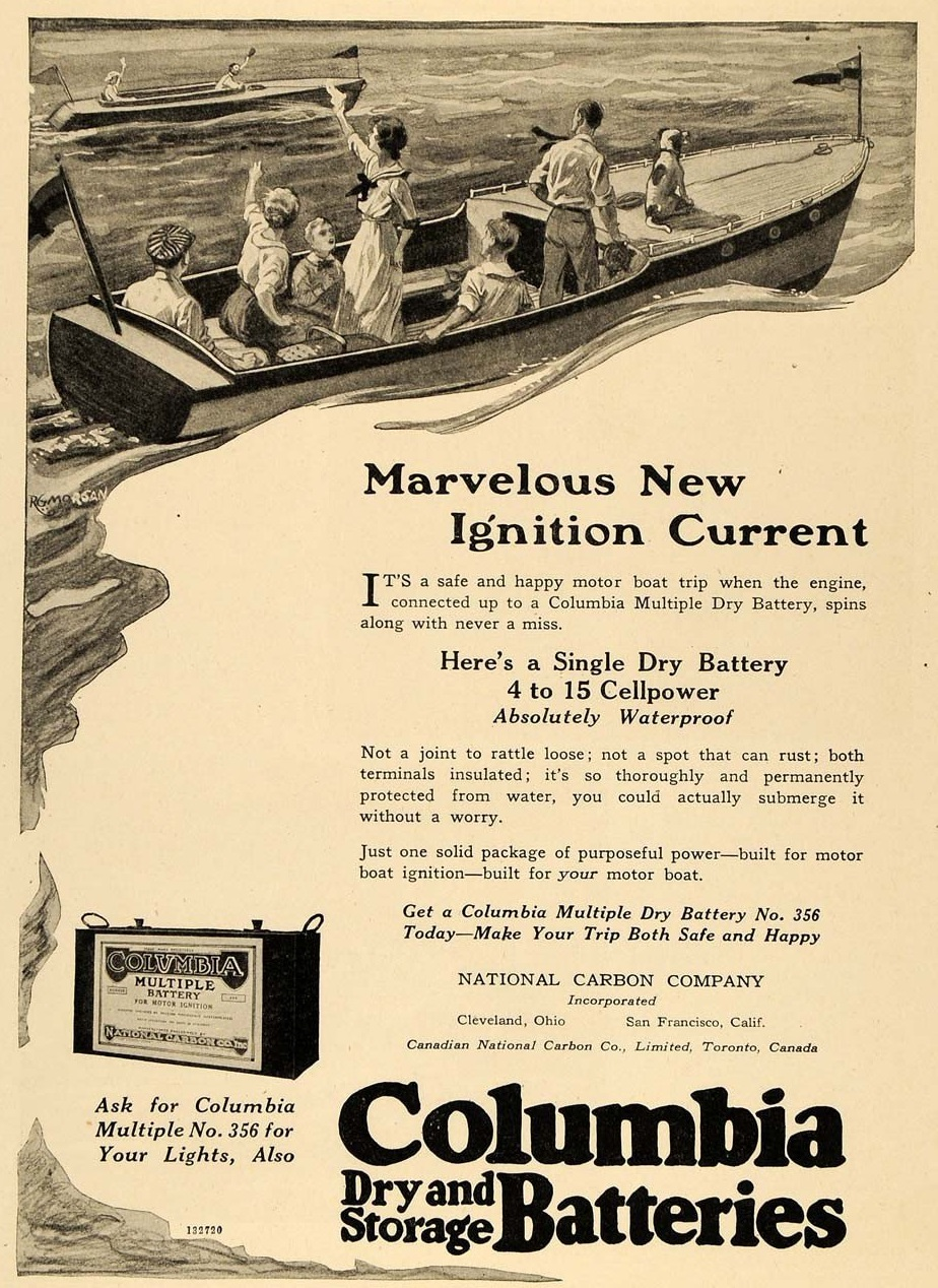 1920 National Carbon Columbia Battery