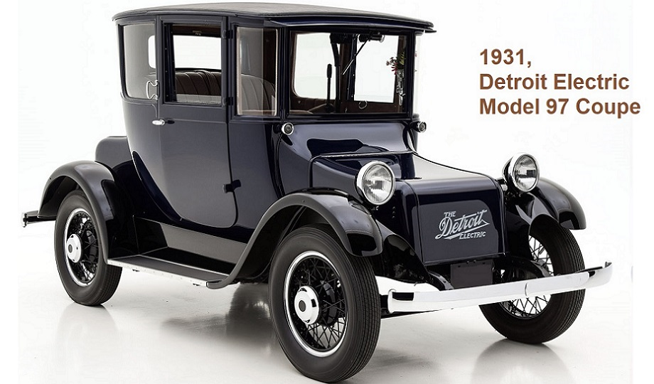 1931 Detroit Electric Model 97 Coupe