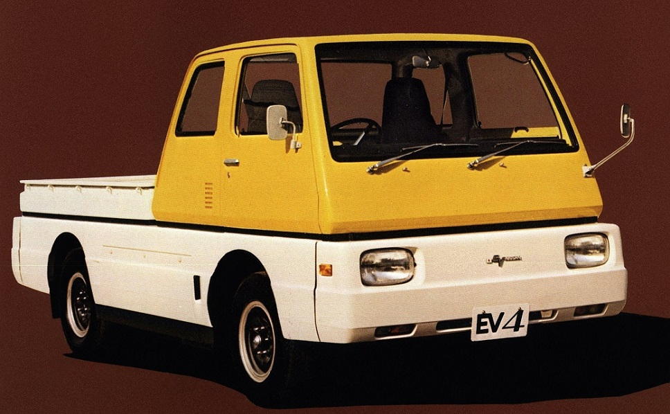 1973 Nissan EV4 electric truck