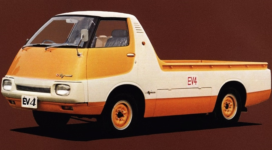 1973 Nissan EV4 electric truck 002