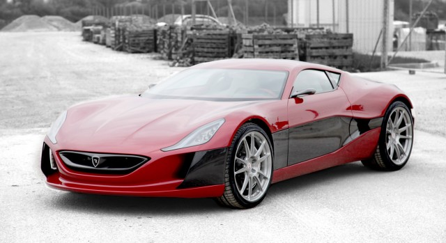 2016 rimac concept one electric
