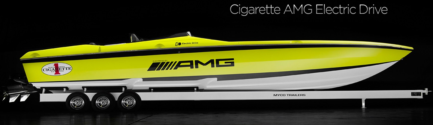Cigarette AMG Electric Drive Concept 0000