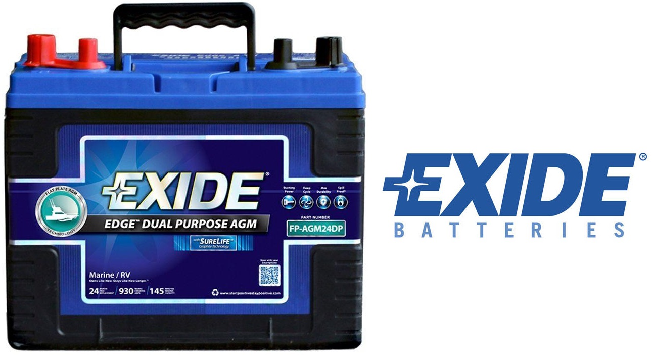 Exide Edge FP AGM 24DP