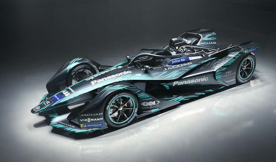 Jaguar Gen 2 Formula E Race Car 001