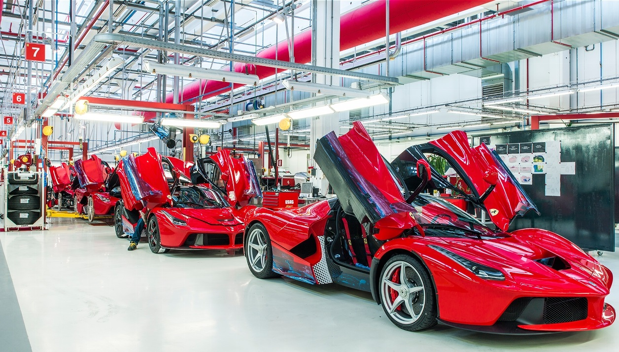 LaFerrari building