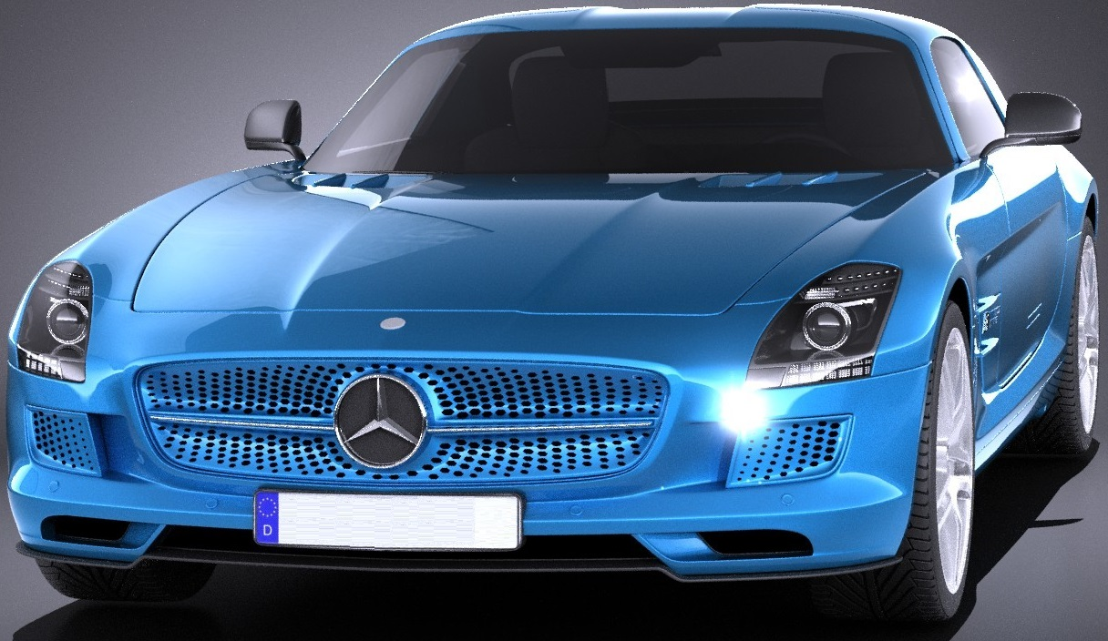 Mercedes SLS AMG electric drive 0000