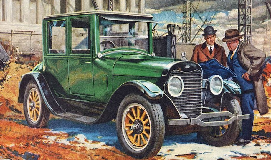 car adverts 1900 1930